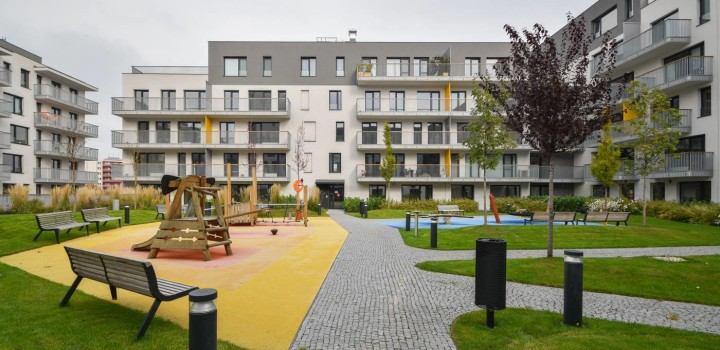 Новая двухкомнатная аренда Братислава Jarabinky