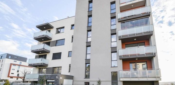 Новая трёхкомнатная квартира аренда Братислава Drotárska cesta