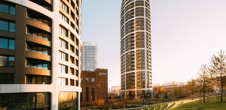 Двухкомнатная квартира снять Братислава SKY PARK Zaha Hadid