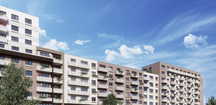 Продажа однокомнатная квартира Братислава Galvaniho Dvory 2